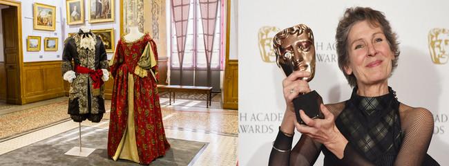 Une vingtaine de costumes exposés dans les salons d'apparat donnent une idée de l'art de Madeline Fontaine, la créatrice de costumes plusieurs fois récompensée aux Césars  (C). Costumes de .la Série Versailles; Madeline Fontaine -( C 2017 Dave J Hogan)