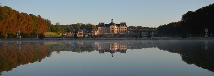 Une magnifique vue sur le Château de Vaux-le-Vicomte . Copyright Serge Tejero  pour le site officiel de Vaux-le-Vicomte