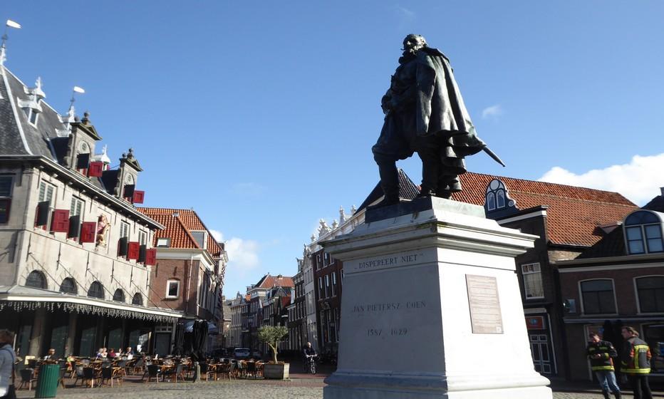 Place du Wetfries museum à Hoorn. Copyright C.Gary