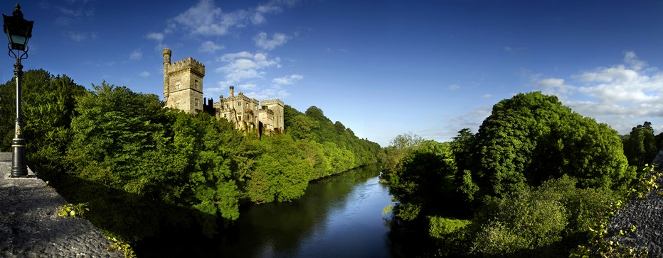dans le comté de Waterford, le Lismore Castle . Crédit photo Office de tourisme Irlande