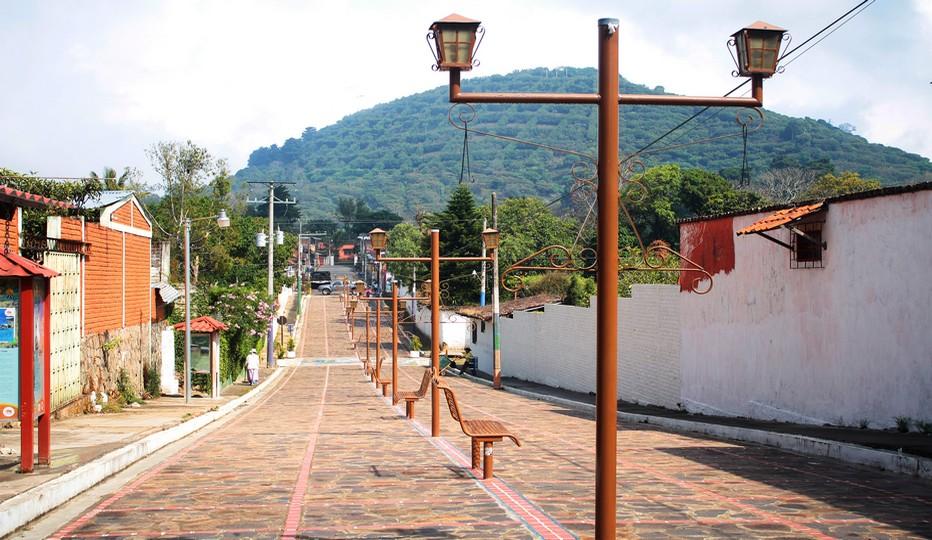 "La promenade ""Rios de viento"" à Apaneca. Crédit photo office de tourisme du Salvador."