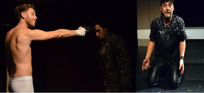 Le Rouquin (Thom Lefevre) Leslie (Gabriel Tamalet) et Al (Mark Alberts). Crédit photo David Raynal.