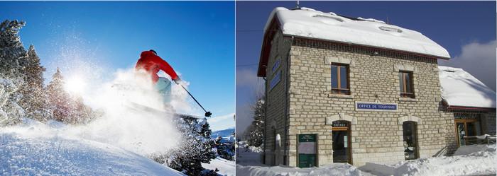 D'un côté la montagne, les activités de plein air et la nature, été comme hiver, de l'autre, l'histoire, le patrimoine et la culture. Copyright T.Durand et D.R.