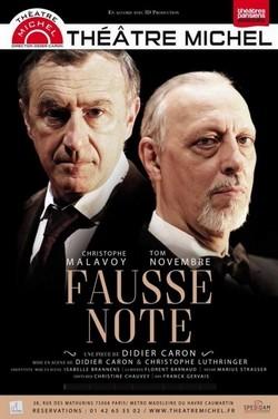 """""""Fausse Note""""  un duel impitoyable à deux voix"""