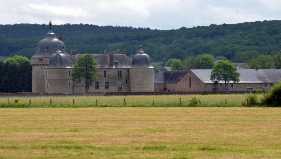 Le Château de Lavaux-Sainte-Anne est classé au patrimoine majeur de la région wallonne. Crédit photo David Raynal