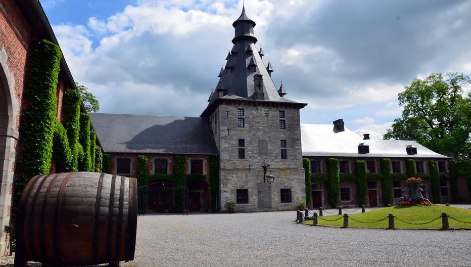 Aussi étonnant que cela puisse paraître, la Belgique compte plus d'une vingtaine de vignerons. Rendez-vous avec Vanessa Wyckmans-Vaxelaire au Château de Bioul, à Bioul. Crédit photo David Raynal.