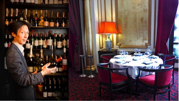 Monsieur Ly conseille les convives pour les meilleurs accords mets  et vins ; Copyright  Chezly17.com
