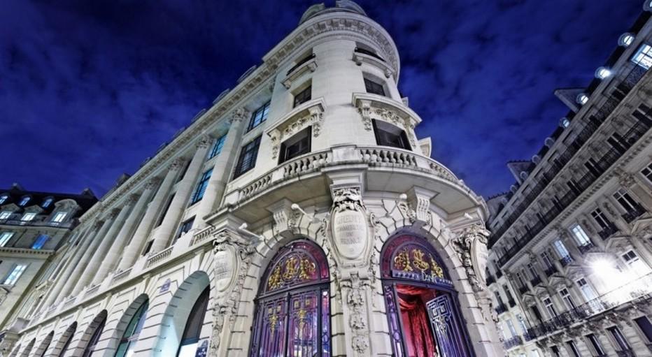 Josefin restaurant à l'intérieur du très haussmannien Crédit Commercial de France, à l'angle des rues Lafayette et de la rue Pillet-Will. (Crédit photo hotelbanke.com)
