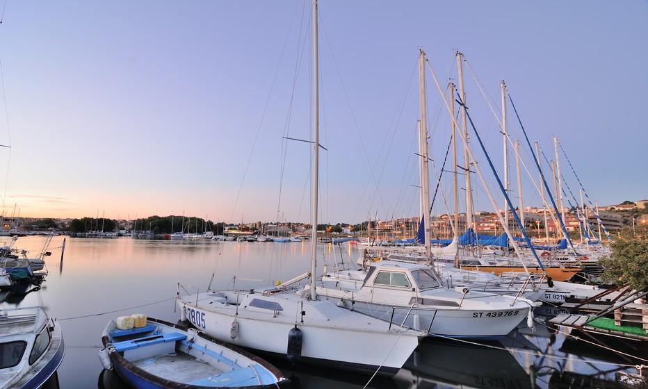 Vue magnifique sur le Port de Balaruc-les-Bains © H. Da Costa pour OT