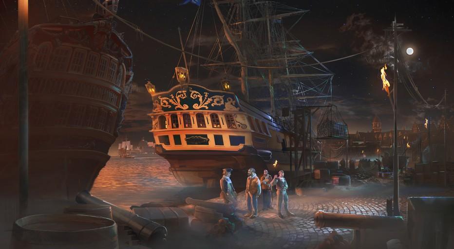 En 1785  le navigateur La Perouse embarque à Brest pour un tour du monde en direction de l'océan Pacifique à bord de son navire La Boussole. (Copyright Puy du Fou)