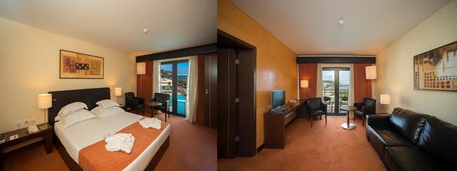 Chambre et sa suite © VG Santa Cruz