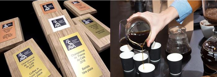 Dans les catégories Barista, Brewers Cup et Coffee in Good Spirits qui se sont déroulés le 30 janvier dernier à Marseille, les vainqueurs de cette deuxième série d'épreuves viendront compléter la #TeamFrance qui représentera l'hexagone aux Championnats du Monde de Café. Copyright D.R.