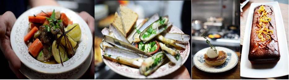 Egalement une cuisine authentique et des produits frais . A déguster un pot-au-feu comme à la maison, plus rare des couteaux à l'ail et des desserts dignes des grands pâtissiers. Copyright Mon Loup