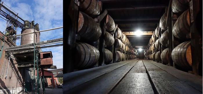 Activité industrielle, le bourbon est aussi une force touristique : chez Buffalo Trace, on annonce une cadence de 1200 visiteurs par jour…© Xavier Bonnet