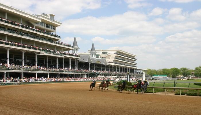 Churchill Downs, mythique champ de courses accueillant – entre autres – le non moins légendaire Kentucky Derby chaque année au mois de mai.© DR