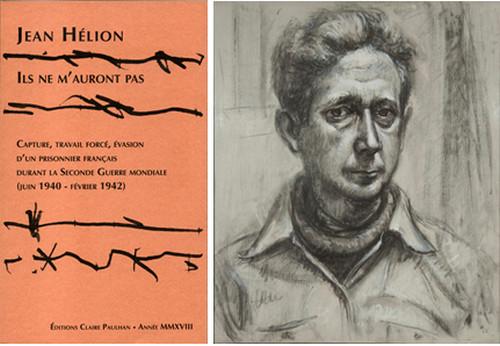 De gauche à droite : Couverture de la nouvelle édition Claire Paulhan, Copyright DR; Autoportrait-1953-fusain-et-huile-sur-toile-559-x-457-cm-857x1024; Copyright DR