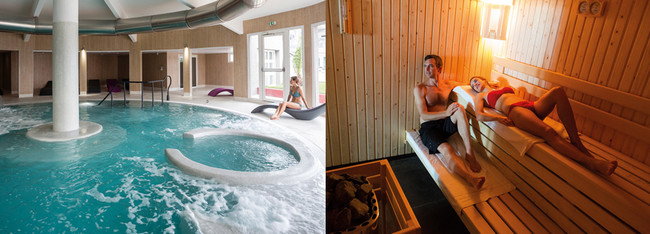 Thalasso et Hammam au Spa de l'Hôtel de la Baie des Anges**** à Antibes. Copyright Thalazur Antibes