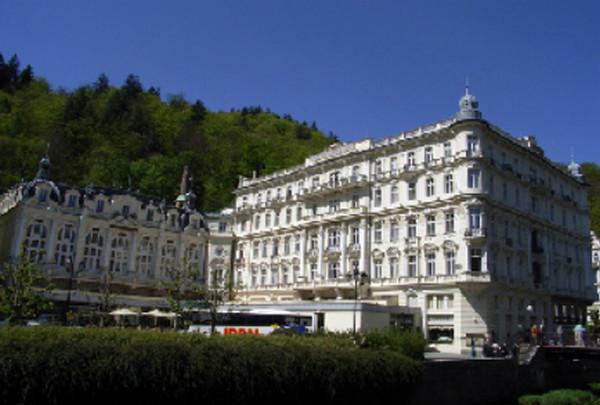 le Grand hôtel Pupp, palace mythique . © Wikipedia-Commons