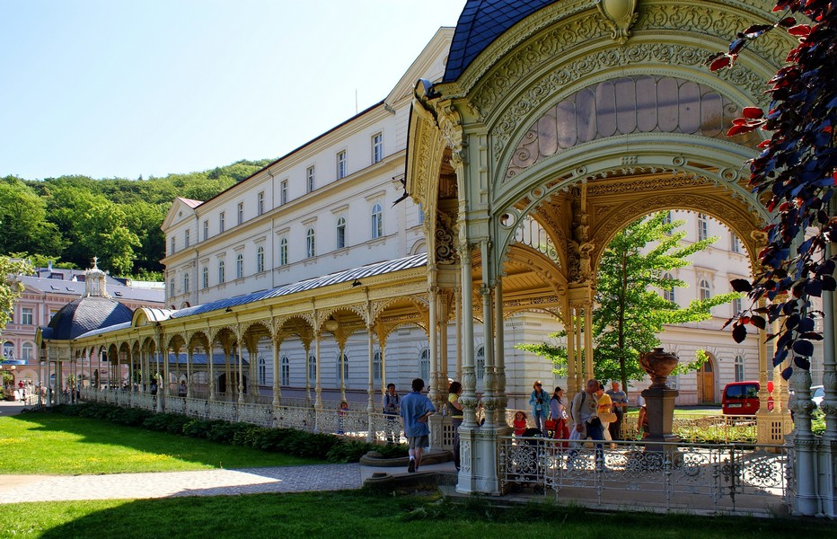 Colonnade du Verger  © KarlovyVary