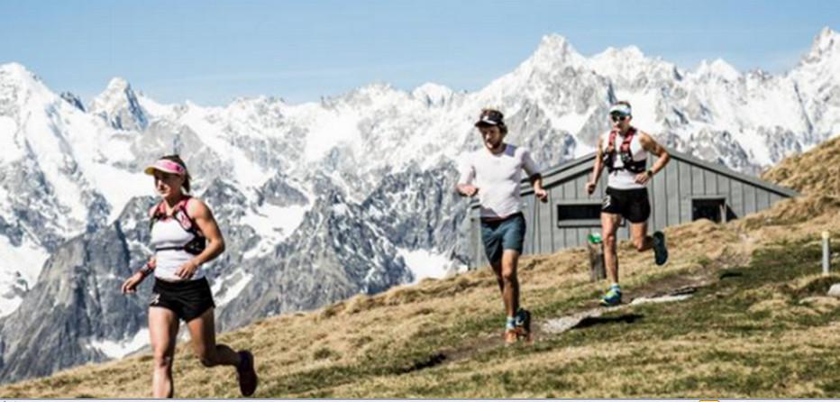 Le  Swisspeaks Trail, une compétition qui a vu le jour à l'été 2017 avec plusieurs parcours entre 15 et 170 kilomètres, entre lac Léman et sommets mythiques.© Swisspeaks Trail