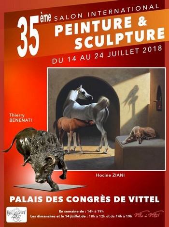 35ème salon… exceptionnel ! ©Salon des artistes de Vittel