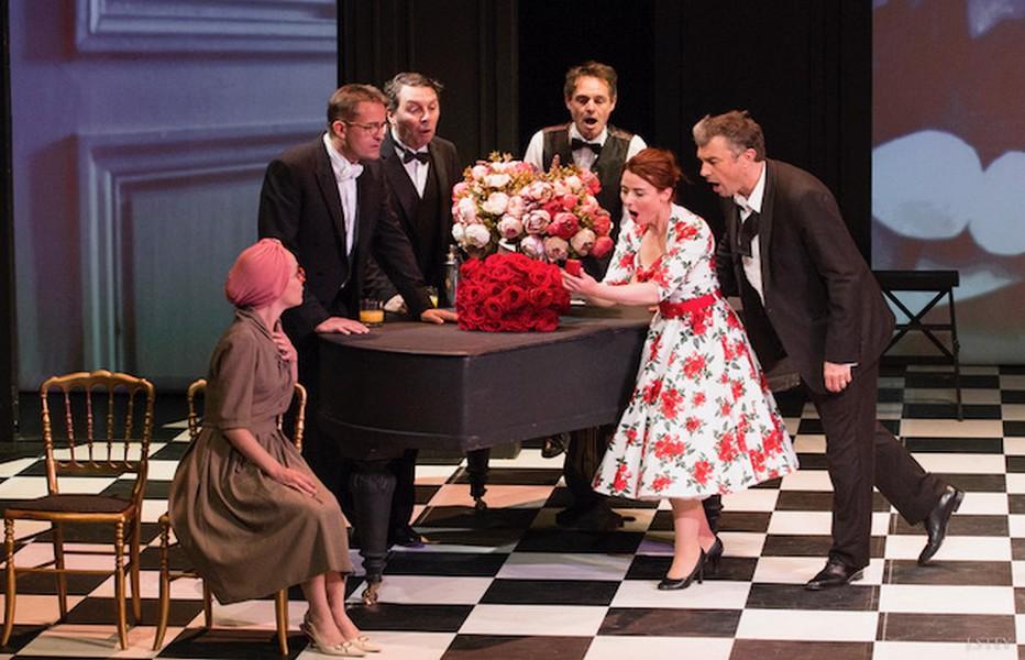 Un fil à la Patte au Théâtre Montparnasse jusqu'à fin août. @ DR