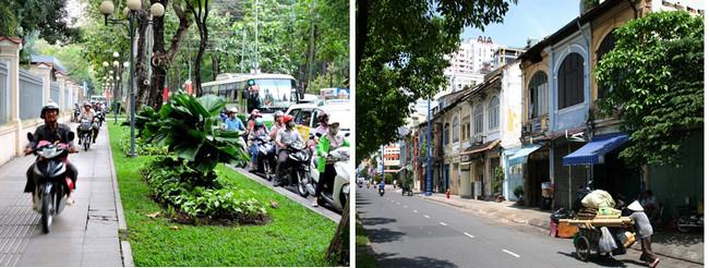 Saïgon hyperactive et bruissante, elle résonne jour et nuit des incessants bruits de scooters et du vrombissement de la ville. © DR