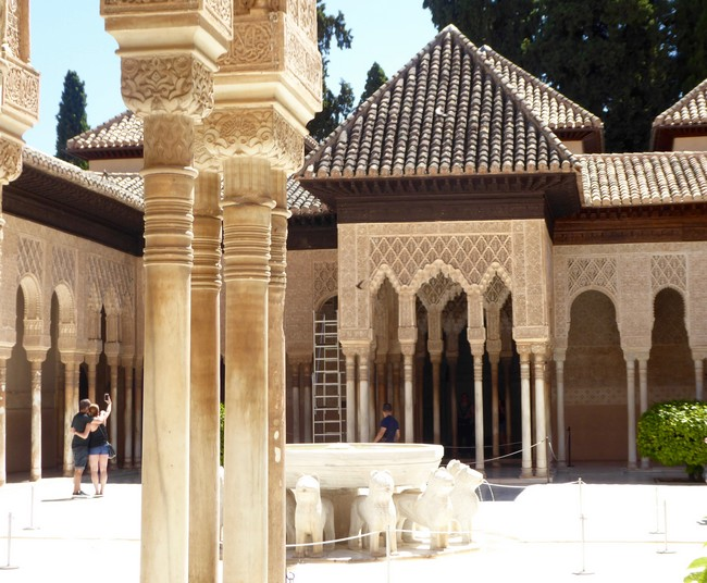 Grenade,  Alhambra .© C.Gary