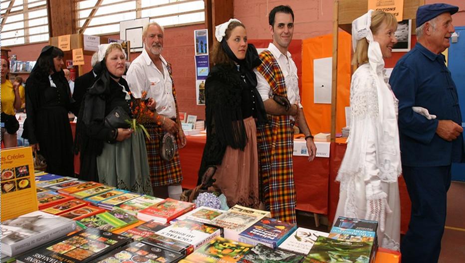 La 20e édition du Salon International du Livre Insulaire se déroule du 23 au 26 août sur l'île d'Ouessant . @ David Raynal