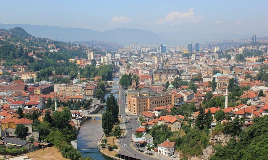 Vue générale de Sarajevo © Lindigomag/Pixabay