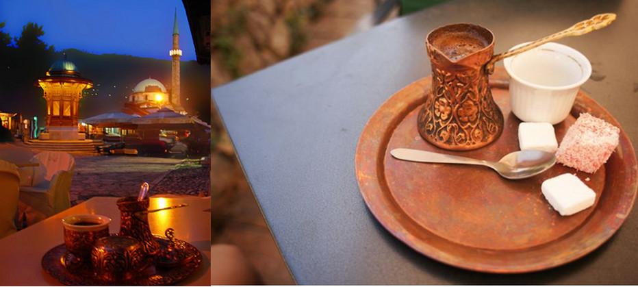Une tradition en Bosnie le rituel du café. @ lindigomag/Pixabay
