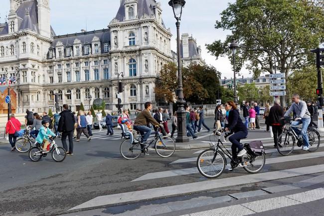 Hôtel de Ville - Paris sans voiture . @Paris.fr