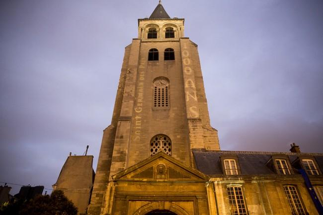 Le travail de restauration des décors intérieurs de l'Église de Saint-Germain des Prés - journées du patrimoine 2018 - @Paris.fr
