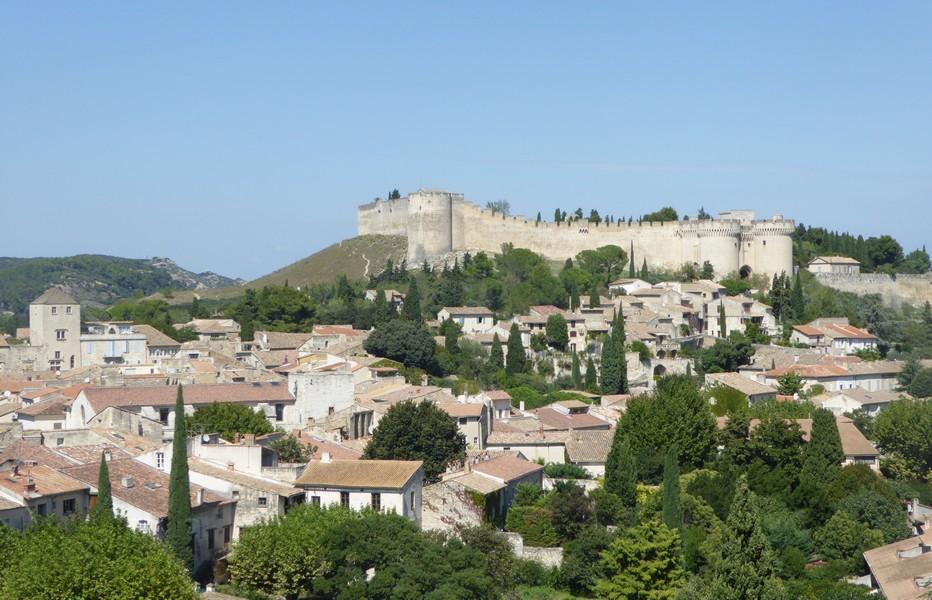 Vue générale sur Villeneuve Les Avignon @ C.Gary