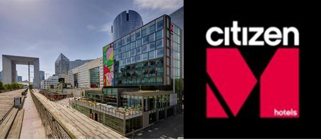 Magnifiquement bien situé, le CitizenM La Défense est situé près de la Grande Arche et tout près de la U Aréna. @ Tripadvisor