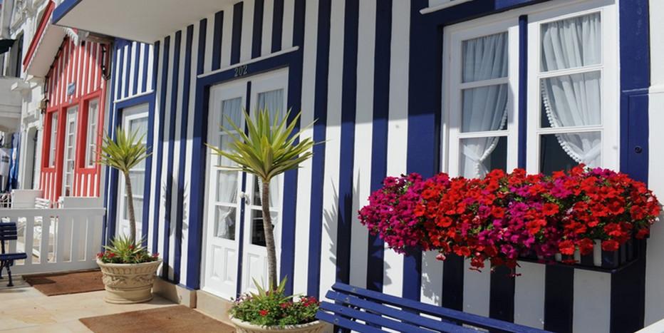 Les maisons rayées de Costa Nova. @ OT Portugal