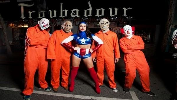 Le carnaval d'Halloween à West Hollywood  -  Copyright   www.visitwesthollywood.com