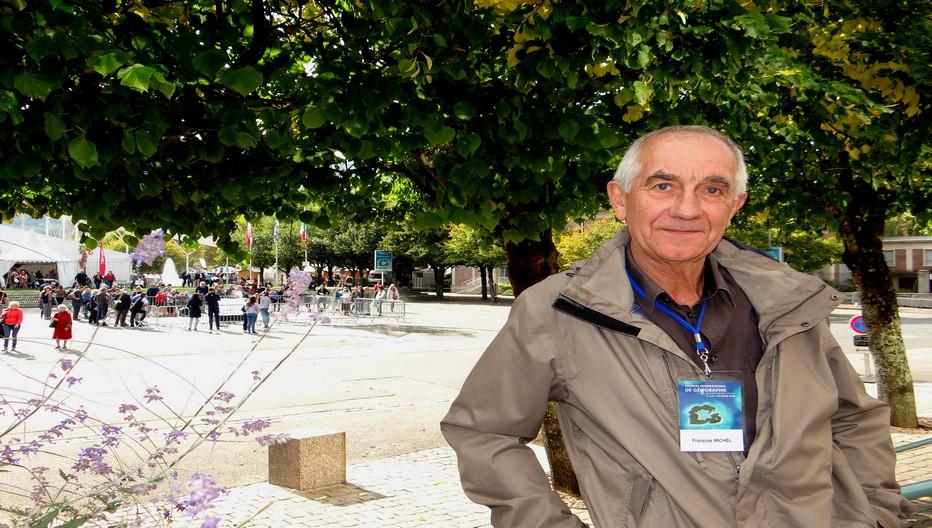 Le géologue écrivain François Michel a participé à la première édition du Fig en 1990 avant de revenir régulièrement en Déodatie. ©Bertrand Munier