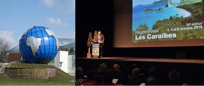 Discours de clôture de la 29ème édition du FIG et annonce de la prochaine et 30ème Edition avec comme région invitée Les Caraïbes. ©Bertrand Munier