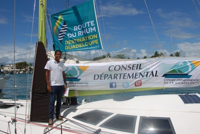 Route du Rhum - Rhum Mono Willy Bissainte  @ DR