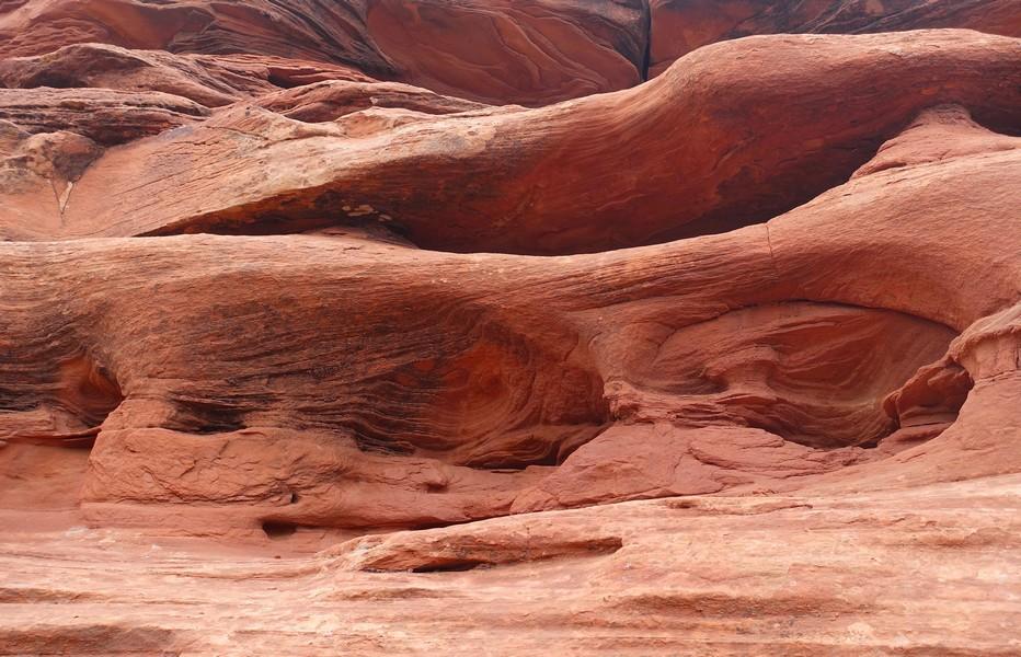 Colorado National Monument, d'immenses sculptures naturelles. Copyright X.Bonnet