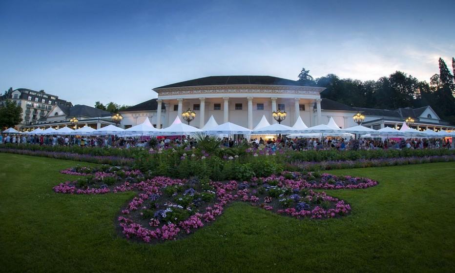 A Baden-Baden,  le Kurhaus est l'emblème architectural de ce «Monaco allemand ».©2018