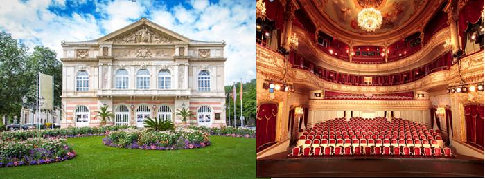 C'est l'architecte parisien Charles Dérchy qui édifia entre 1859 et 1862 l'un des plus beaux théâtres d'Allemagne dans le style de l'opéra de Paris.© OT Allemagne