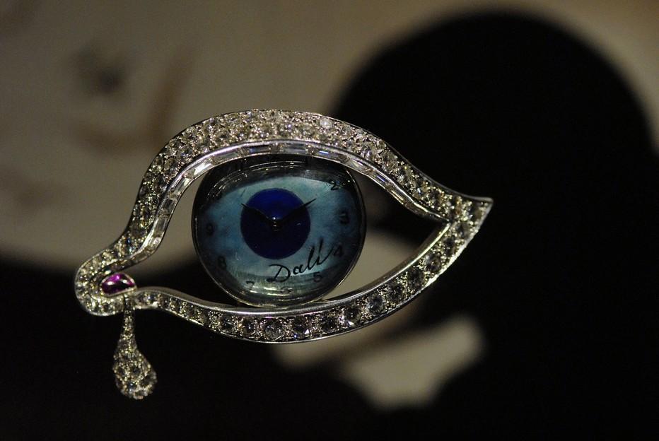 Espace Dali-Bijoux. L'Oeil du temps Copyright Fundació Gala-Salvador Dalí, Figueres,