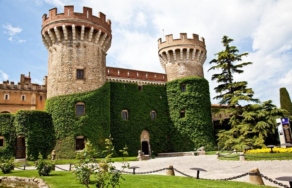 Jardins castell,  copyright Ajuntament de Peralada.