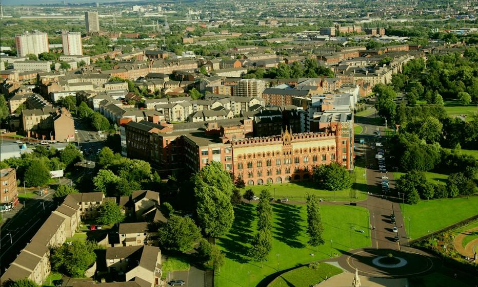 Vue sur Glasgow verdoyant. Copyright DR