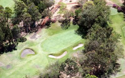 Vue aérienne du golf de Bourbon/David Raynal