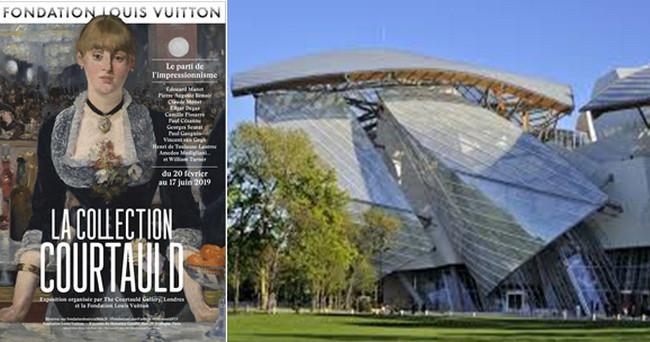 Exposition Courtauld à la Fondation Vuitton (Paris) - @ Fondation Vuitton
