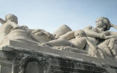 Sculpture Gare St-Charles Marseille
