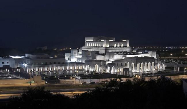 L'Opéra Royal de Mascate, un lieu dédié aux arts musicaux et à la culture au sultanat d'Oman. @ OT Oman